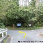 県央の森の入口分岐