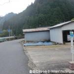 瀧野バス停(東吉野村コミュニティバス)
