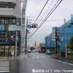 JR津田駅前の車道を南に進む