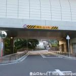 JR津田駅から交野市いきものふれあいセンターに行く途中の第二京阪道路の高架下