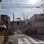 JR四条畷駅から四条畷神社に向かう参道