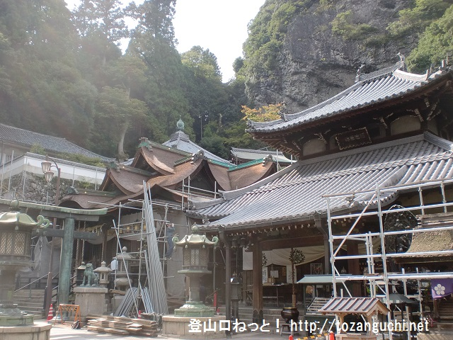 生駒山の登山口 宝山寺にアクセスする方法