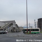 桜井駅(JR・近鉄)の南口バス停