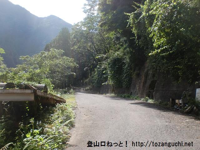 百合ヶ岳(大所山)の登山口 下多古にアクセスする方法