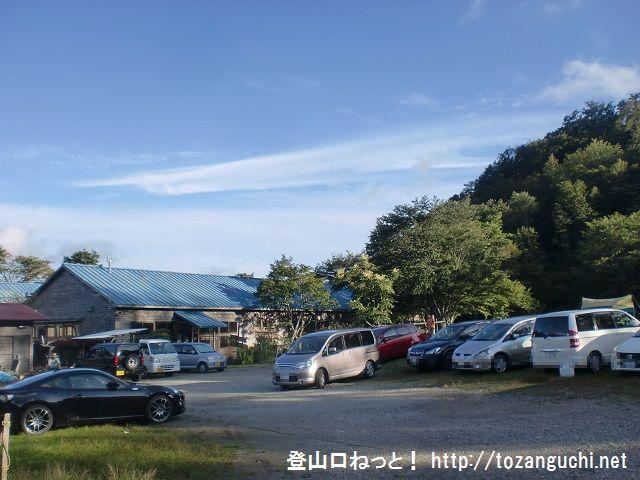 大普賢岳の登山口 和佐又山ヒュッテにバスでアクセスする方法