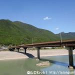 熊野萩バス停南側にある橋