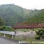 三田谷(五百瀬)の伯母子峠登山口手前にある三田谷橋
