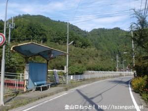 長谷バス停(奈良交通)