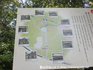 枚岡神社入口に設置してある案内板