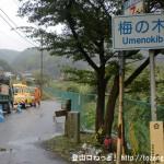 梅ノ木橋の関東ふれあいの道の入口