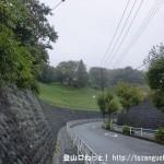 西武滝山台交差点の東側の丘
