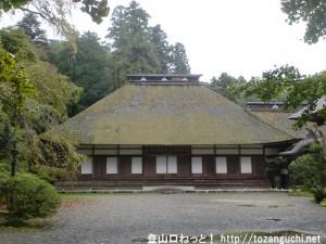 広徳寺の本堂(あきる野市)