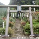 今熊神社本殿右側の鳥居