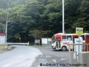 上養沢バス停(西東京バス)