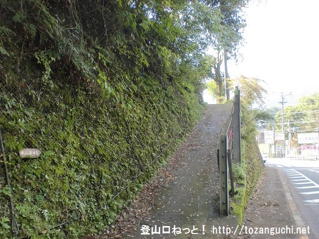 戸倉城山(城山)の登山口 十里木にアクセスする方法