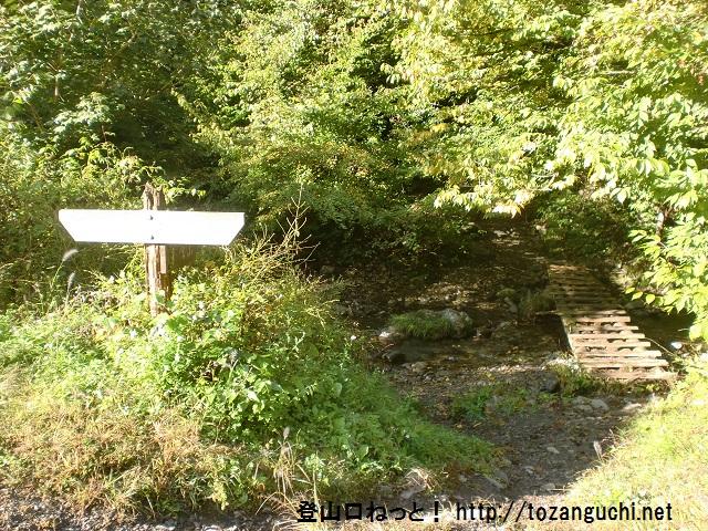 景信山の登山口 小下沢キャンプ場跡にアクセスする方法