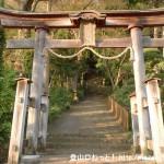 与瀬神社(相模湖駅近く)の鳥居