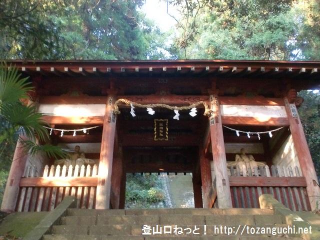 陣馬山・明王峠の登山口 与瀬神社にアクセスする方法