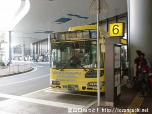 成田空港のターミナルを繋ぐ無料連絡バス