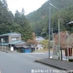 笹平バス停(西東京バス)