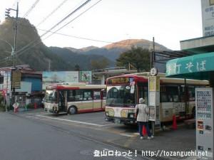 奥多摩駅バス停(西東京バス)