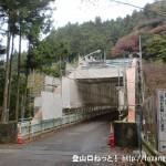 氷川国際ます釣り場前の鉄橋