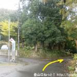 東京青梅病院の入口前