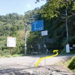 森林植物公園口バス停から国道425号線を下北山村の方に進む