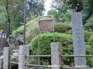 千駄ヶ谷の富士塚(鳩森八幡神社)