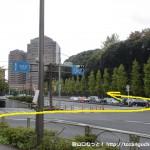 第一京浜国道の八ツ山橋交差点