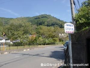 むすばれ橋バス停(奈良交通)