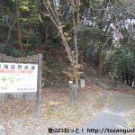 高根山・山星山の登山口に定光寺駅から歩いてアクセスする方法