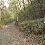岩巣山の北側の登山口(東海自然歩道入口)にアクセスする方法