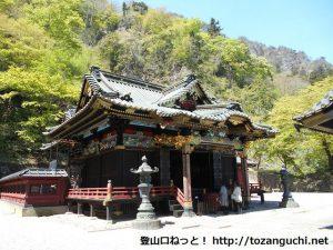 妙義神社本殿(群馬県富岡市)