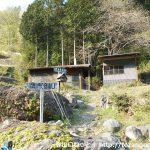 鹿岳の下高原登山口から見る登山道