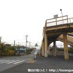 桜沢駅の歩道橋