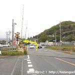 桜沢駅の方から国道140号線に出るところ