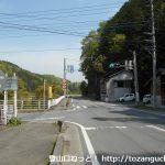 橋場バス停(イーグルバス)