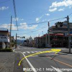 国道122号線の広沢町一丁目の交差点