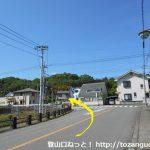 広沢小学校横の辻