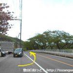 小野上駅から国道353号線を渋川方面に進む