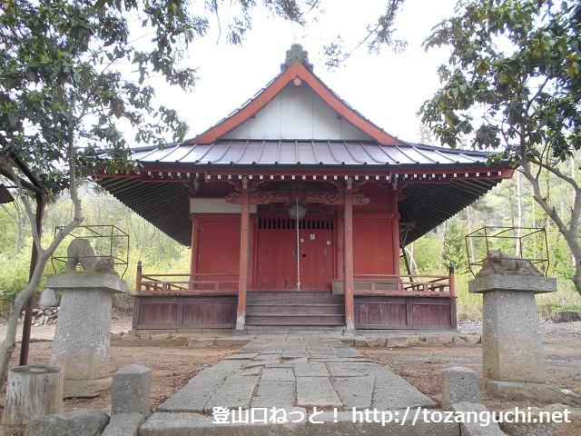 虚空蔵尊(丑寅神社)の本殿