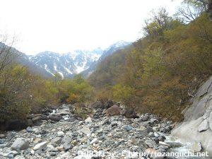 マチガ沢から見る谷川岳