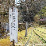 竜頭山の登山口 鳴沢の滝(鳴沢橋)にバスでアクセスする方法