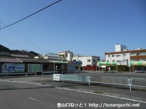 本長篠駅前バス停(豊鉄バス)