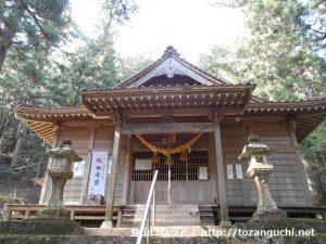 槻神社(御殿山登山口)の本殿