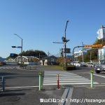 犬山遊園駅北側の横断歩道