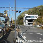 犬山遊園駅北側の踏切
