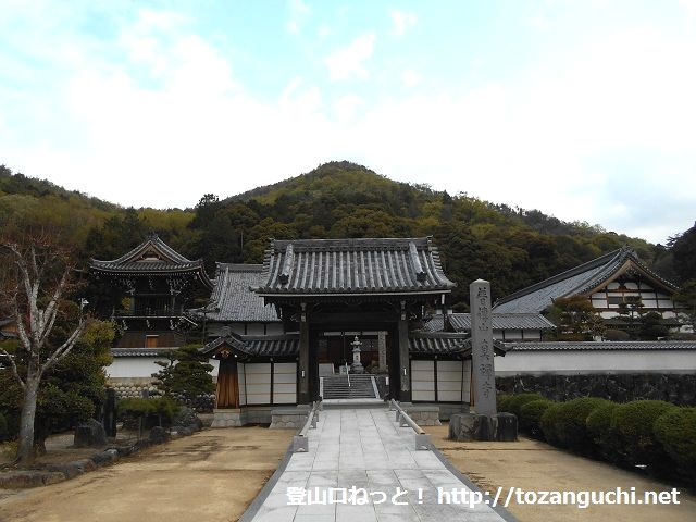 真禅寺(鳩吹山・継鹿尾山登山口)