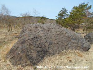 池ノ平の亀甲岩②